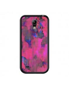 Coque Fleurs Rose Lysergic Pink pour Samsung Galaxy S4 Mini - Maximilian San