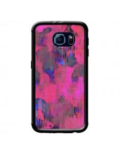 Coque Fleurs Rose Lysergic Pink pour Samsung Galaxy S6 - Maximilian San