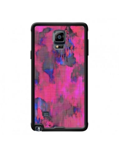 Coque Fleurs Rose Lysergic Pink pour Samsung Galaxy Note 4 - Maximilian San