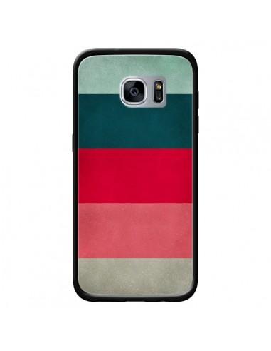 Coque Bandes New York City Hues pour Samsung Galaxy S7 - Maximilian San