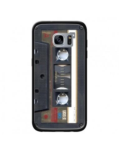 Coque Cassette Gold K7 pour Samsung Galaxy S7 - Maximilian San