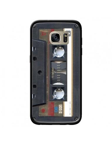 Coque Cassette Gold K7 pour Samsung Galaxy S7 Edge - Maximilian San