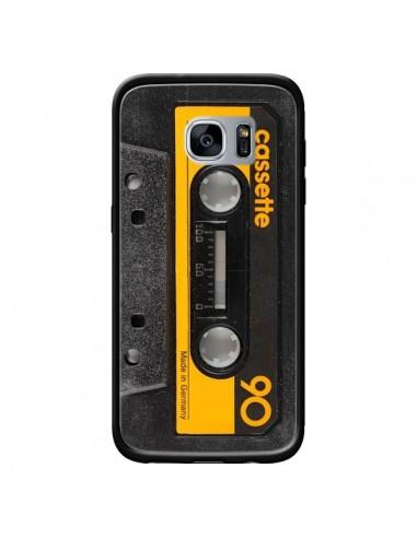 Coque Yellow Cassette K7 pour Samsung Galaxy S7 - Maximilian San