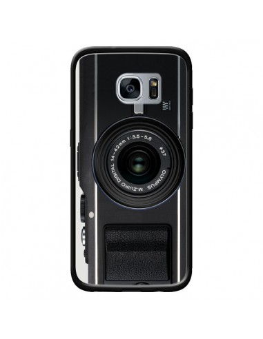 Coque Old Camera Appareil Photo Vintage pour Samsung Galaxy S7 - Maximilian San