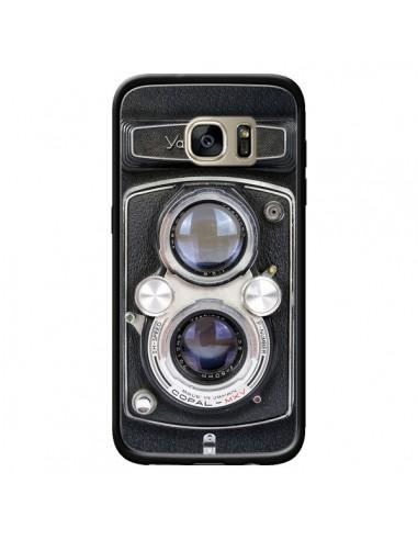 Coque Vintage Camera Yashica 44 Appareil Photo pour Samsung Galaxy S7 Edge - Maximilian San