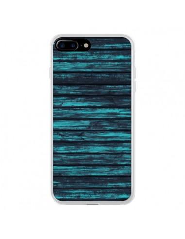 Coque Blue Moon Wood Bois pour iPhone 7 Plus et 8 Plus - Maximilian San