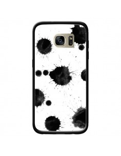 Coque Asteroids Polka Dot pour Samsung Galaxy S7 Edge - Maximilian San