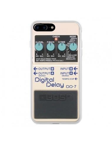 Coque Digital Delay Radio Son pour iPhone 7 Plus et 8 Plus - Maximilian San