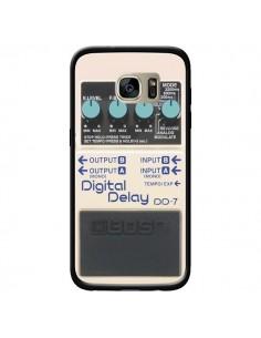 Coque Digital Delay Radio Son pour Samsung Galaxy S7 Edge - Maximilian San
