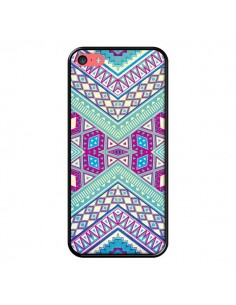 Coque Azteque Lake pour iPhone 5C - Maximilian San