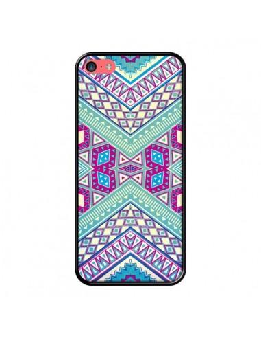 Coque iPhone 5C Azteque Lake - Maximilian San