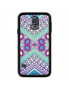 Coque Azteque Lake pour Samsung Galaxy S5 - Maximilian San