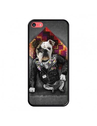 Coque iPhone 5C Chien Bad Dog -...