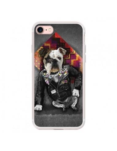 Coque iPhone 7/8 et SE 2020 Chien Bad...