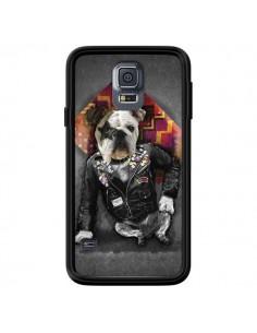 Coque Chien Bad Dog pour Samsung Galaxy S5 - Maximilian San