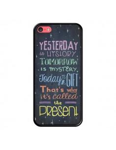 Coque iPhone 5C Today is a gift Cadeau - Maximilian San