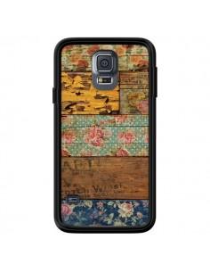 Coque Barocco Style Bois pour Samsung Galaxy S5 - Maximilian San