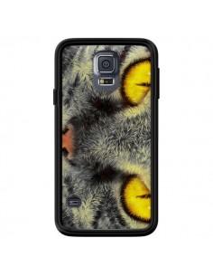 Coque Chat Gato Loco pour Samsung Galaxy S5 - Maximilian San