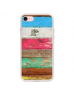 Coque iPhone 7/8 et SE 2020 Eco Fashion Bois - Maximilian San