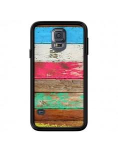 Coque Eco Fashion Bois pour Samsung Galaxy S5 - Maximilian San