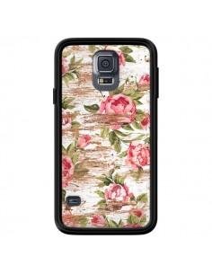 Coque Eco Love Pattern Bois Fleur pour Samsung Galaxy S5 - Maximilian San