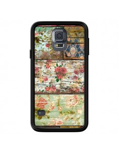 Coque Lady Rococo Bois Fleur pour Samsung Galaxy S5 - Maximilian San
