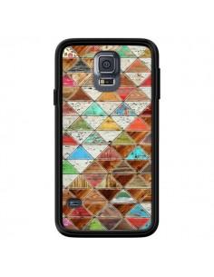 Coque Love Pattern Triangle pour Samsung Galaxy S5 - Maximilian San