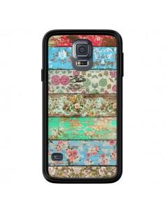 Coque Rococo Style Bois Fleur pour Samsung Galaxy S5 - Maximilian San