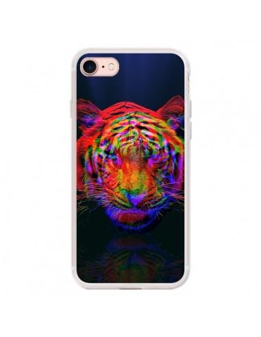 Coque iPhone 7/8 et SE 2020 Tigre...