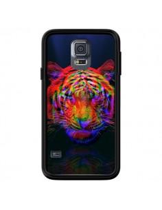 Coque Tigre Beautiful Aberration pour Samsung Galaxy S5 - Maximilian San