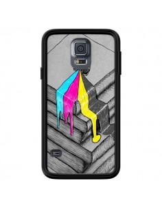 Coque Appareil Photo Bleeding Words pour Samsung Galaxy S5 - Maximilian San