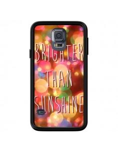 Coque Brighter Than Sunshine Paillettes pour Samsung Galaxy S5 - Maximilian San