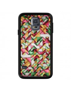 Coque Azteque Triangle Geometric World pour Samsung Galaxy S5 - Maximilian San