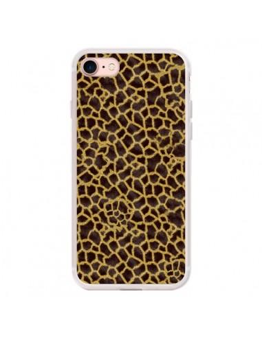 Coque iPhone 7/8 et SE 2020 Girafe -...