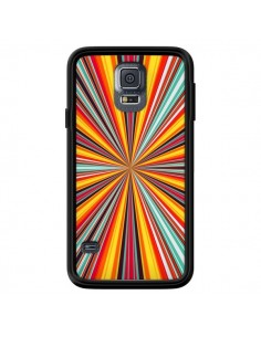 Coque Horizon Bandes Multicolores pour Samsung Galaxy S5 - Maximilian San