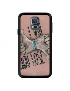 Coque I win You lose pour Samsung Galaxy S5 - Maximilian San