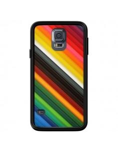 Coque Arc en Ciel Rainbow pour Samsung Galaxy S5 - Maximilian San