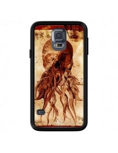 Coque Octopu Skull Poulpe Tête de Mort pour Samsung Galaxy S5 - Maximilian San