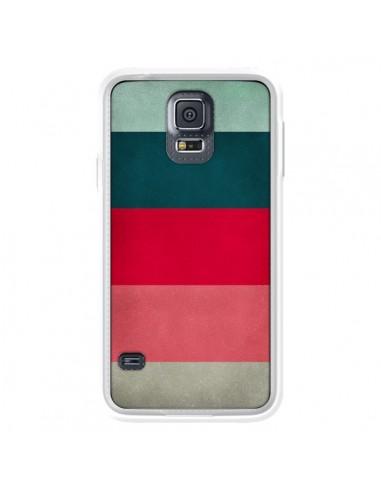 Coque Bandes New York City Hues pour Samsung Galaxy S5 - Maximilian San