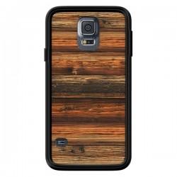 Coque Style Bois Buena Madera pour Samsung Galaxy S5 - Maximilian San