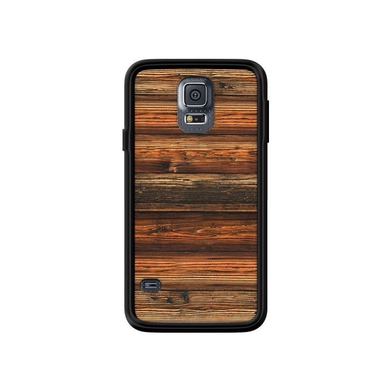Coque Style Bois Buena Madera pour...
