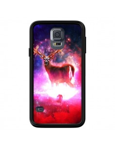 Coque Cosmic Deer Cerf Galaxy pour Samsung Galaxy S5 - Maximilian San