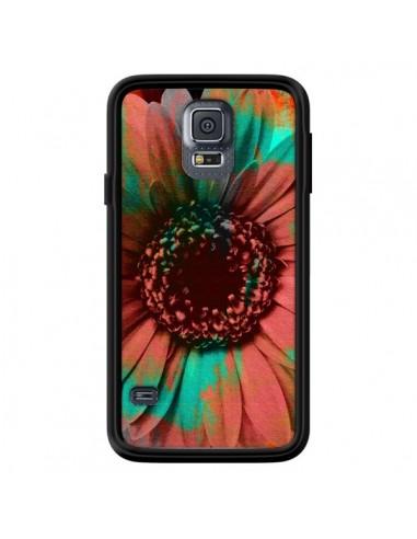 Coque Tournesol Lysergic Flower pour Samsung Galaxy S5 - Maximilian San