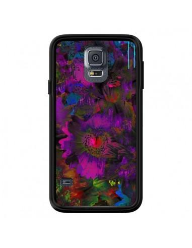 Coque Fleurs Lysergic Lujan pour Samsung Galaxy S5 - Maximilian San