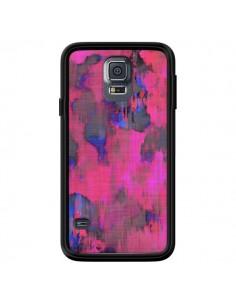 Coque Fleurs Rose Lysergic Pink pour Samsung Galaxy S5 - Maximilian San