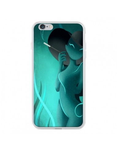 Coque iPhone 6 Plus et 6S Plus Femme Enora Blue Smoke - LouJah
