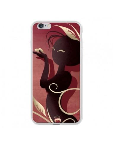 Coque iPhone 6 Plus et 6S Plus Femme Asiatique Love Coeur - LouJah