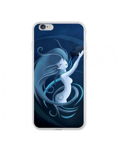 Coque iPhone 6 Plus et 6S Plus Aquarius Girl La Petite Sirene - LouJah