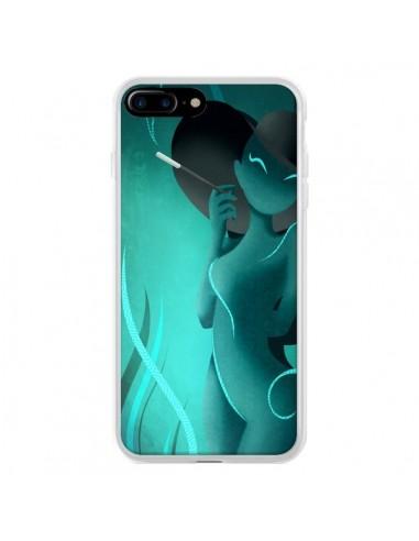 Coque iPhone 7 Plus et 8 Plus Femme Enora Blue Smoke - LouJah