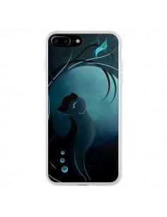 Coque Chat Clair de Lune Moonlight pour iPhone 7 Plus - LouJah